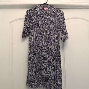 NWOT Lilly Pulitzer Button Down Tunic, S